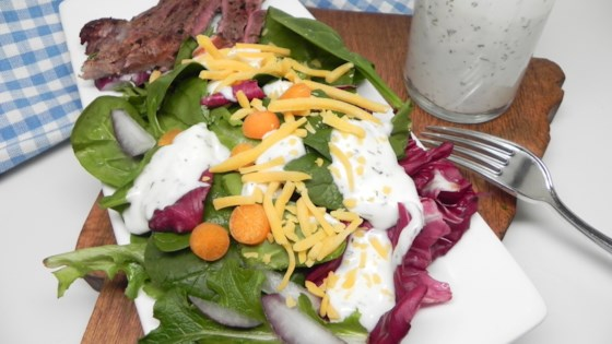 Photo of Buttermilk Ranch Dressing with Greek Yogurt by The Jazz Chef