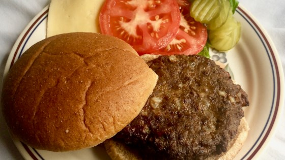 Photo of Air Fryer Bison Burgers by Bibi