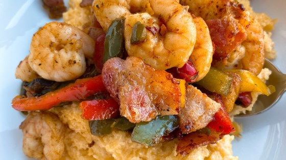 Photo of South of the Border Shrimp and Grits by thedailygourmet