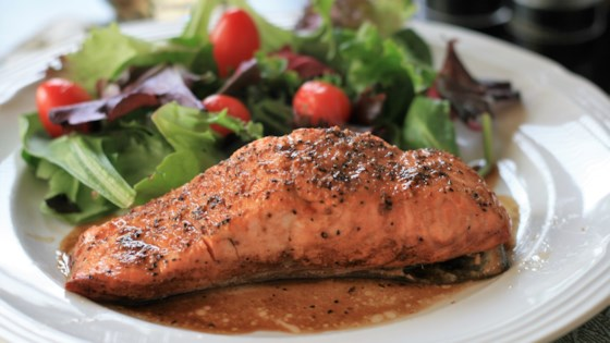Photo of Easy, No-Mess Baked Salmon by N. Adams