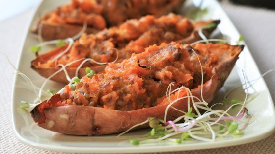 Photo of Stuffed Sweet Potato Skins by catholic soup queen