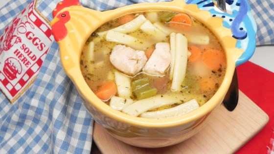 Photo of Homemade Chicken Noodle Soup by lilacwine808
