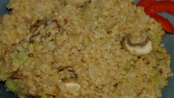 Photo of Bulgur Stuffing by The South Beach Diet Online