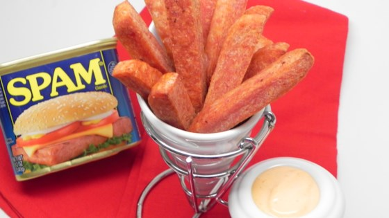 Photo of Air Fryer SPAM® Fries with Spicy Dipping Sauce by Soup Loving Nicole