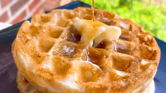Photo of Crispy Eggless Waffles by thedailygourmet