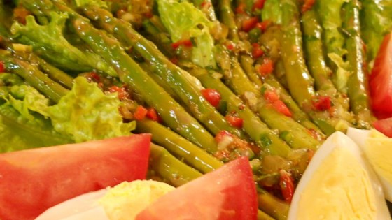 Photo of Asparagus Vinaigrette by Grammy Peggy
