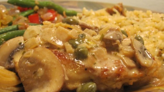 Photo of Romantic Chicken with Artichokes and Mushrooms by Caity-O