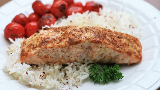 Photo of Baked Old Bay® Salmon by Joni's Busy Kitchen