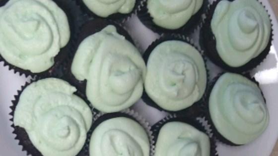 Photo of Mint Chocolate Cupcakes by xoxoemilyrae