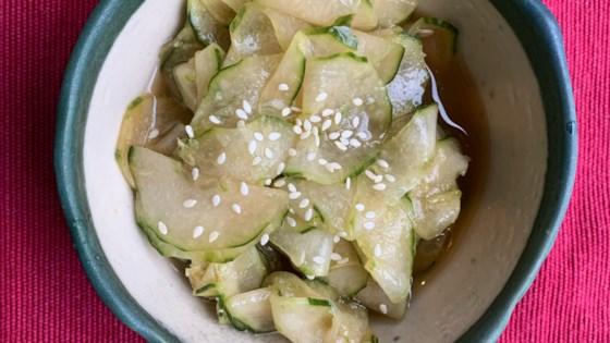 Photo of Japanese Cucumber Sunomono by ChefJackie