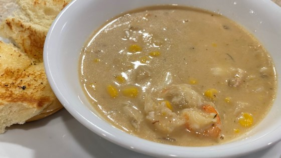 Photo of Corn and Crab Bisque by TATTOOCHICC