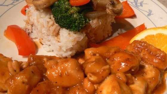 Photo of Mandarin Orange Chicken by Tammie Bickar