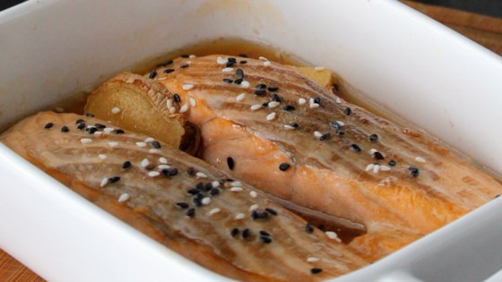 Photo of Ginger-Soy Baked Salmon by GODBLESSAVANESSA