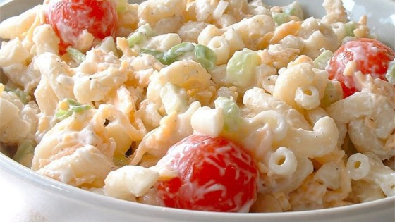 Photo of Macaroni and Cheese Salad by Sally Dickson