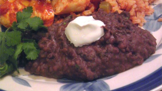 Photo of Luscious Turkey Bacon Refried Beans by Valerie Taylor