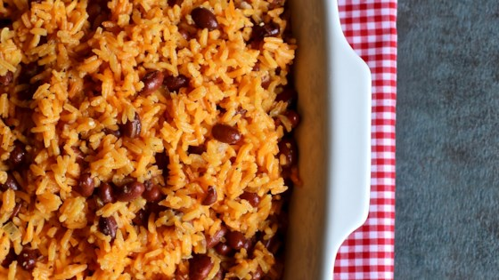 flavorful spanish rice and beans review by colleen