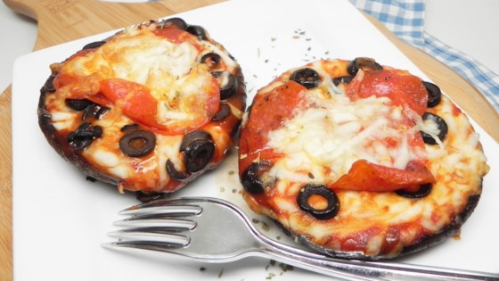 Photo of Air Fryer Portobello Pizzas for Two by Soup Loving Nicole