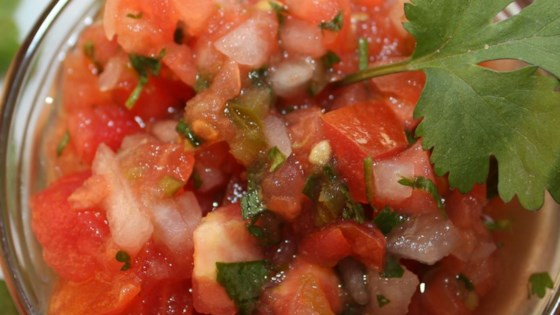 Photo of Fresh Tomato Salsa by bluebayou