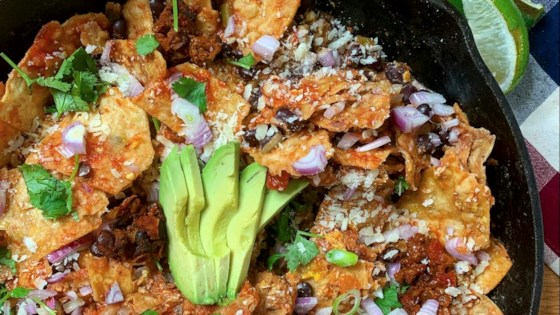 Photo of Quick Black Bean Chilaquiles by Matthew Francis
