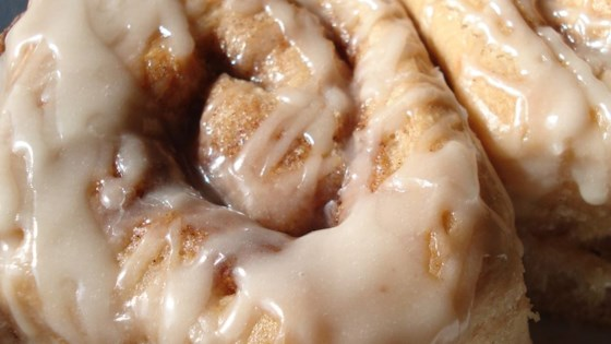 Photo of Cake Mix Cinnamon Rolls by ARVILLALAR