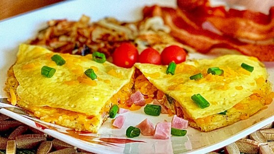ham and cheese omelette review by yoly