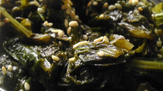 Photo of Asian-Inspired Mustard Greens by trepto