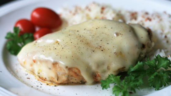 Photo of Smoked Mozzarella Skillet Chicken by mrs.g