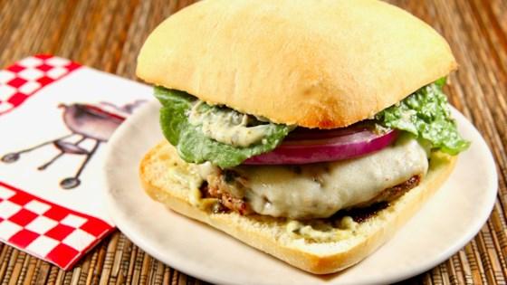 Photo of Grilled Italian Turkey Burgers by Shagen McBride