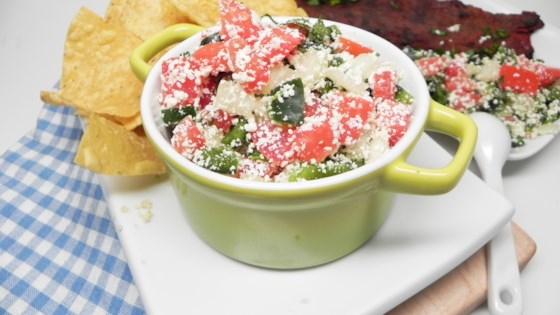 Photo of Cotija Cheese Salsa by RSPPSMETZLER