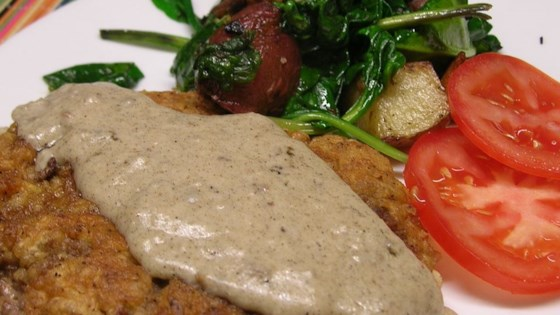 Photo of Country Fried Steak and Milk Gravy by LIKESTOCOOK