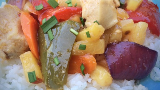 sheet pan sweet and sour chicken review by nancy stevens