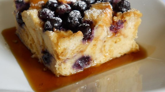 Photo of Baked Blueberry French Toast by Suzanne  Strocsher