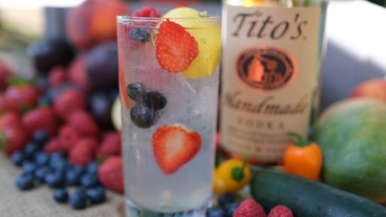 Photo of Tito's Berry Lemonade by Tito's Handmade Vodka