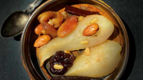 Photo of Pears and Dried Fruits in a Tagine by Buckwheat Queen