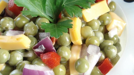 Photo of Mom's Easy Pea Salad by Jonna