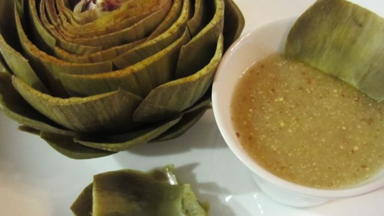 Photo of Lemon and Mustard Dipping Sauce for Artichokes by Annaid