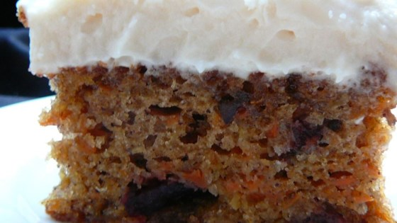 Photo of Cranberry Carrot Cake by jowolf2