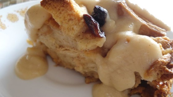 Photo of Best Bread Pudding with Vanilla Sauce by Gail Cobile