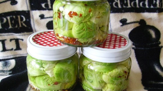 Photo of Zesty Pickled Brussels Sprouts by pelicangal