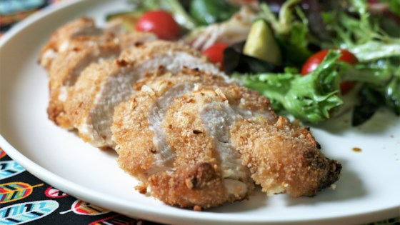 French Onion-Breaded Baked Chicken Recipe