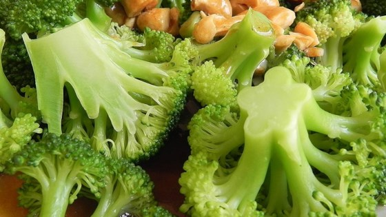 Photo of Broccoli with Garlic Butter and Cashews by SALSIEPIE