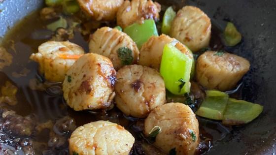 pan seared lemon and garlic scallops review by donbosco