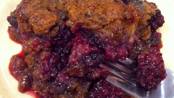 Photo of BJ's Easy Blackberry Cobbler by BirgitJ