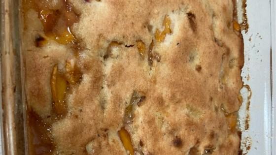 Photo of Gluten-Free Peach Cobbler by Hunnydew30