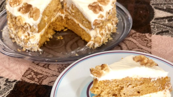 Photo of Easy Pumpkin Pie Cake by Yoly