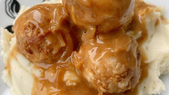 stuffed french onion chicken meatballs review by ralanw