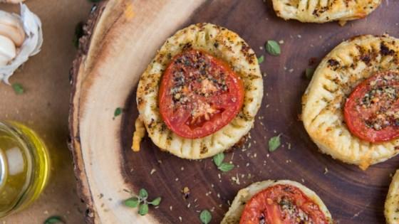 Photo of Stuffed Pull Apart Tomato Tart by Stella Cheese