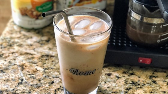iced almond milk nutella r latte review by erica