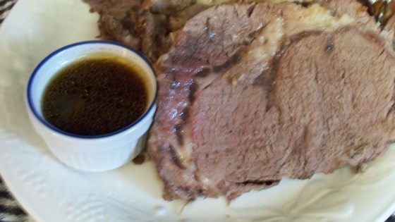 Rubbed Prime Rib with Chili and Mustard