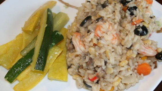 Photo of Prawn and Pine Nut Risotto by phuong
